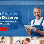 Best and Trending Bootstrap Templates for Plumbing Websites