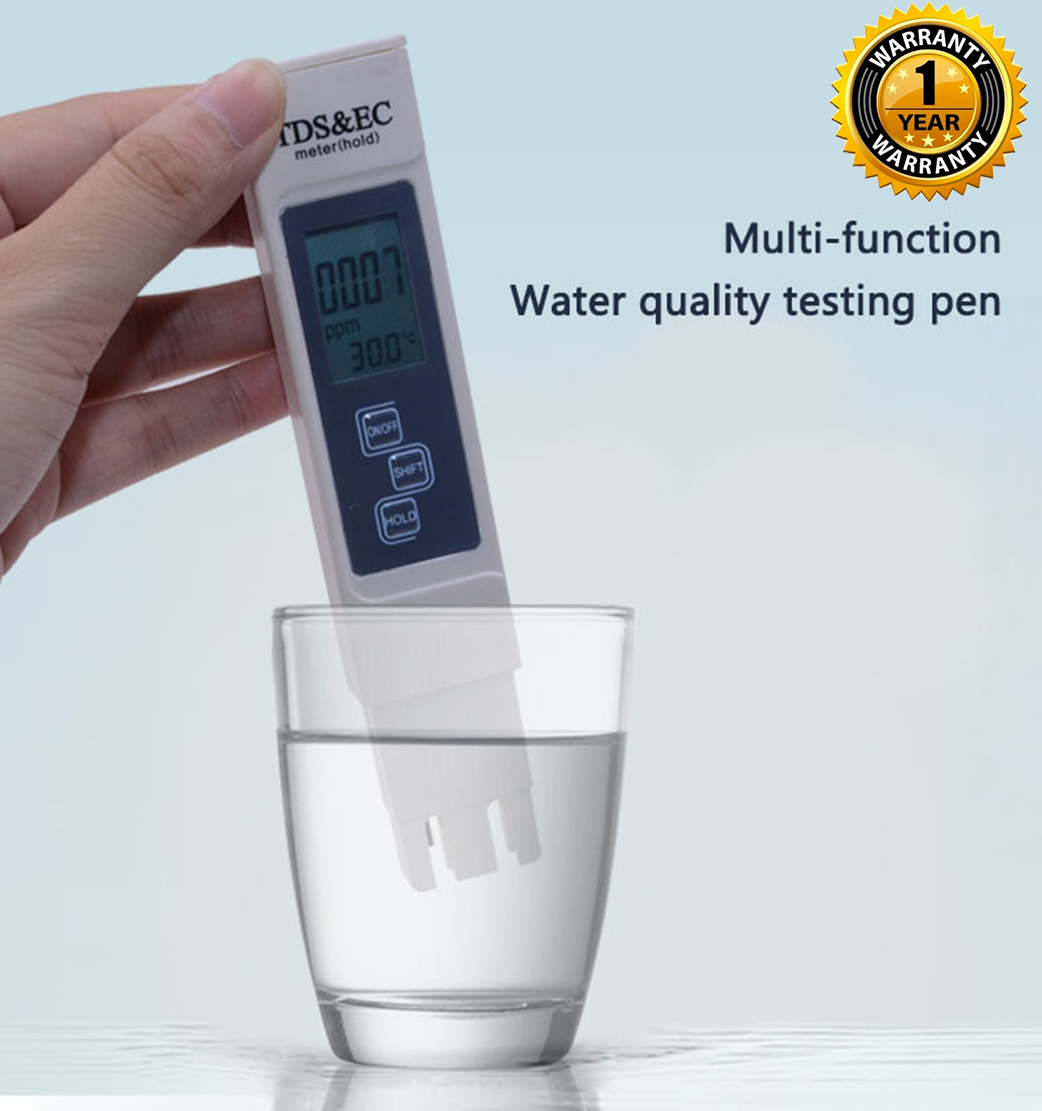 AmiciCare Digital Water TDS EC and Temperature Meter